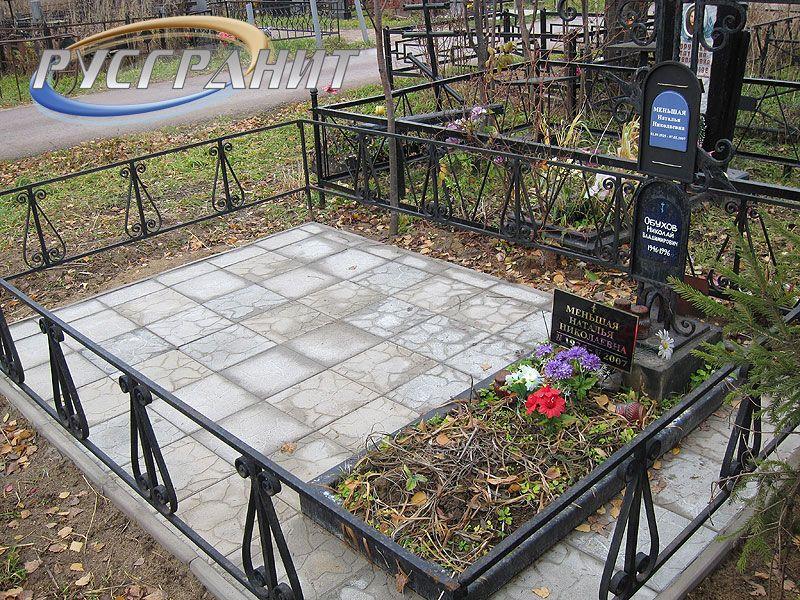 Чем оформить могилу на кладбище своими руками фото 74