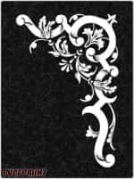 Рисунок на памятнике - виньетка