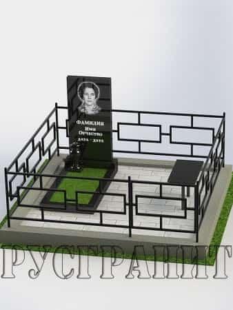 Обустройство могилы 6