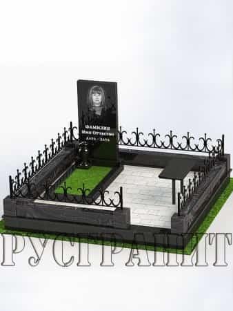 Обустройство могилы 10