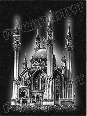 Мечеть с шестью минаретами
