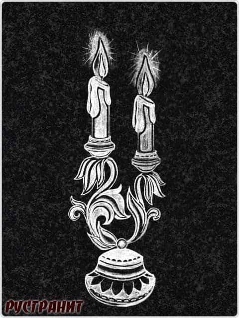 Картинки на ритуальный камень