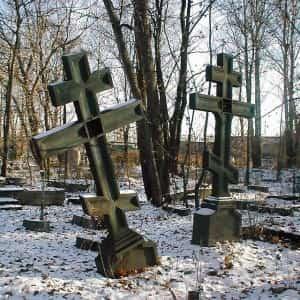 Никому не нужные кладбища