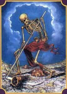 Смерть с серпом или косой