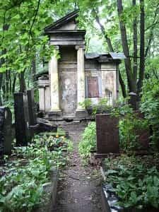 Немецкое кладбище в Москве