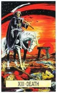 Смерть на карте Таро